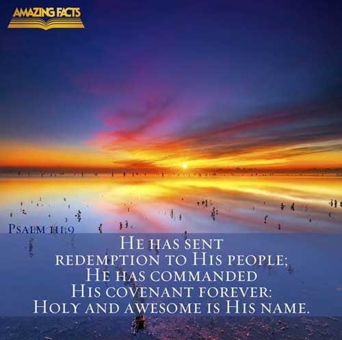 Psalms 111:9