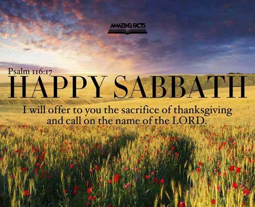 I will offer to thee the sacrifice of thanksgiving, and will call upon the name of the LORD. 