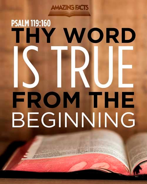 Psalms 119:160
