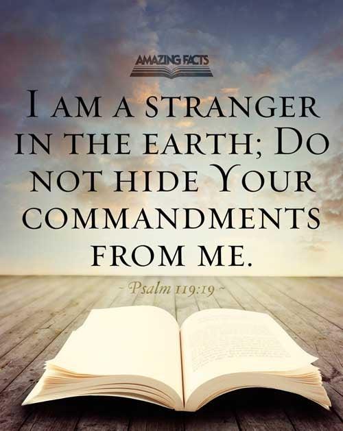 Psalms 119:19