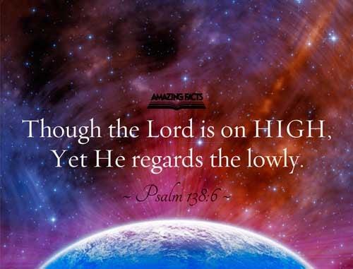 Psalms 138:6