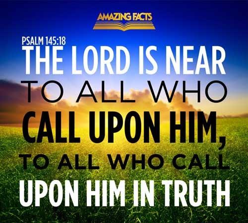 Psalms 145:18