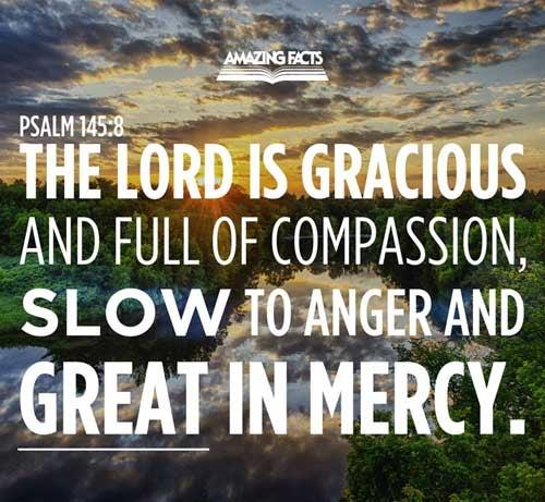 Psalms 145:8