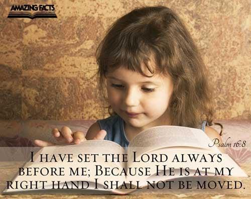 Psalms 16:8