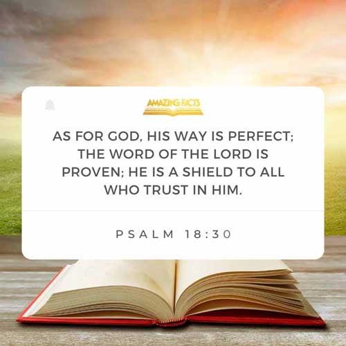 Psalms 18:30
