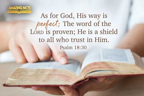 As for God, his way is perfect: the word of the LORD is tried: he is a buckler to all those that trust in him. 