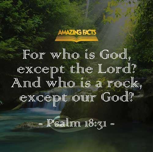 Psalms 18:31
