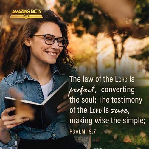 Psalms 19:7