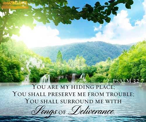 Psalms 32:7