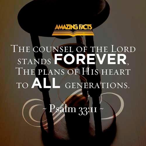 Psalms 33:11