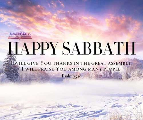 Happy Sabbath! | Sabbath Picture Gallery | Sabbath Truth