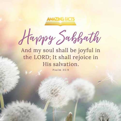 And my soul shall be joyful in the LORD: it shall rejoice in his salvation. 