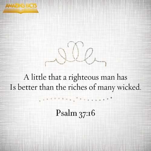 Psalms 37:16