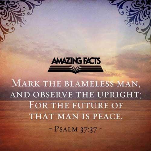 Psalms 37:37
