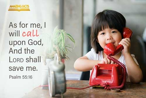 As for me, I will call upon God; and the LORD shall save me. 