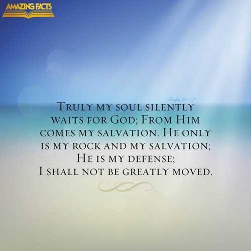Psalms 62:1-2