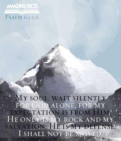 Psalms 62:5-6