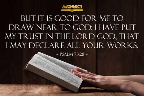 Psalms 73:28
