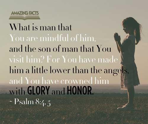 Psalms 8:4-5