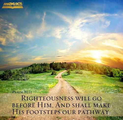 Psalms 85:13