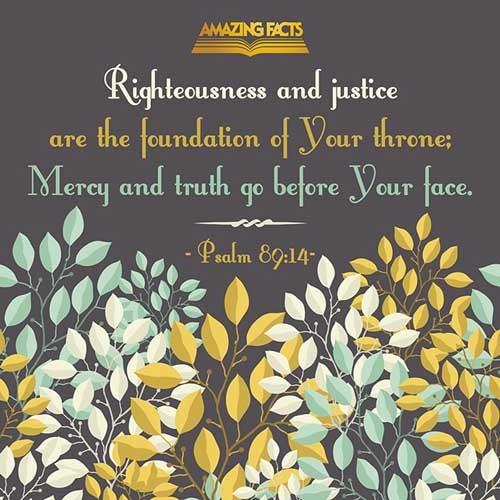 Psalms 89:14