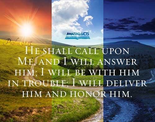Psalms 91:15