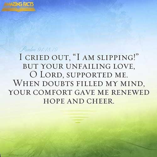 Psalms 94:18-19