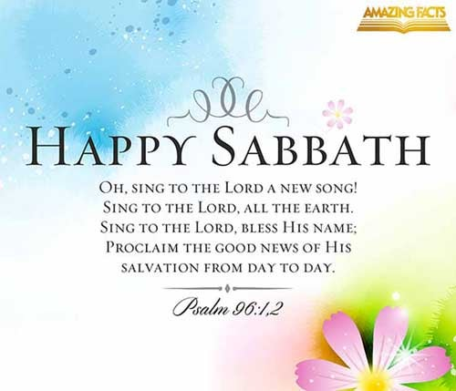 O sing unto the LORD a new song: sing unto the LORD, all the earth. Sing unto the LORD, bless his name; shew forth his salvation from day to day. <br />(Psalms 96:1-2)