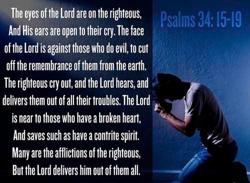 Psalms 34:15-19