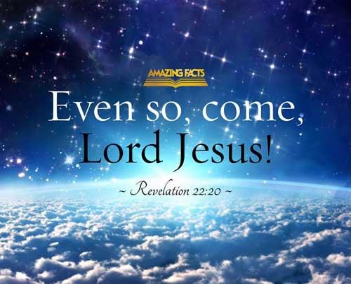 Revelation 22:20