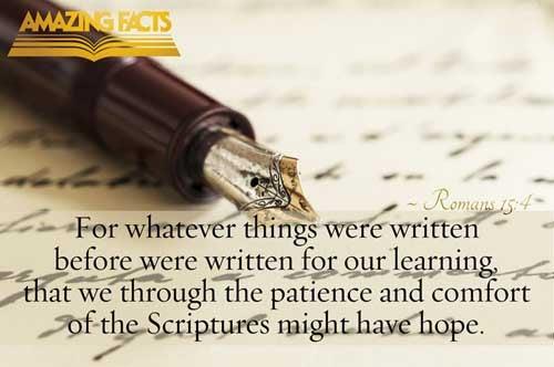 Romans 15:4