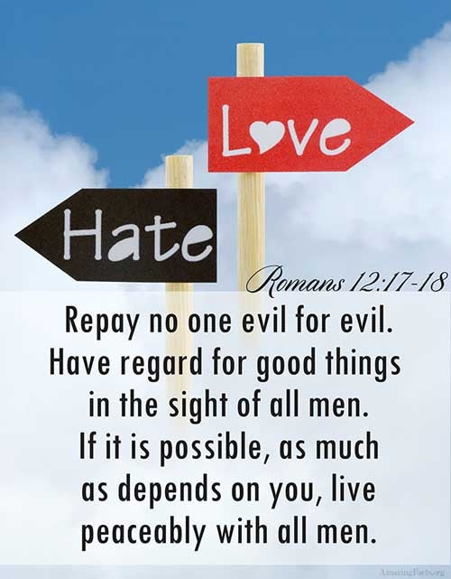 Romans 12:17-18