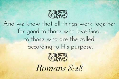 Image result for romans 8 :28
