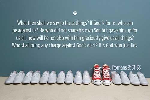 Romans 8:31-33