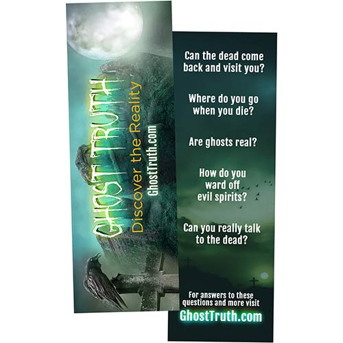 Ghost Truth Bookmark