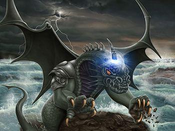 Beast with ten horns