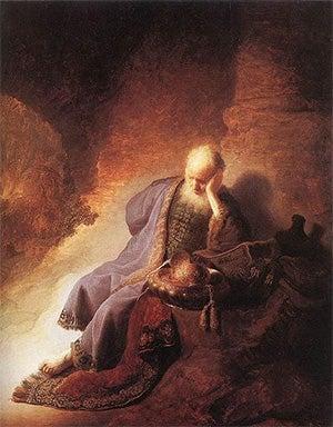 The weeping prophet