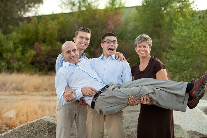 The Batchelor Family 2014 Family Portraits