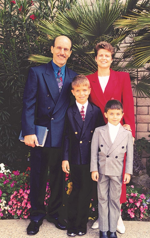 The Batchelor Family 2002 Family Portrait