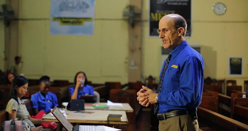 Pastor Doug at PAFCOE