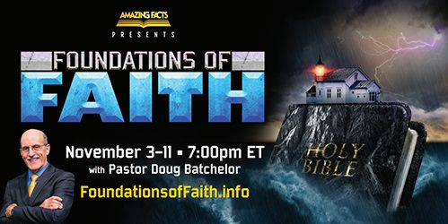 Foundations of Faith Banner