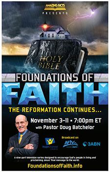 Foundations of Faith Flyer