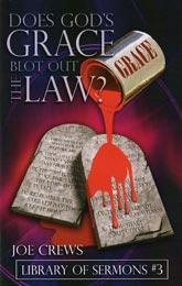 ¿La gracia de Dios borra la ley?