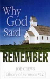 De ce a spus Dumnezeu Adu-ţi aminte