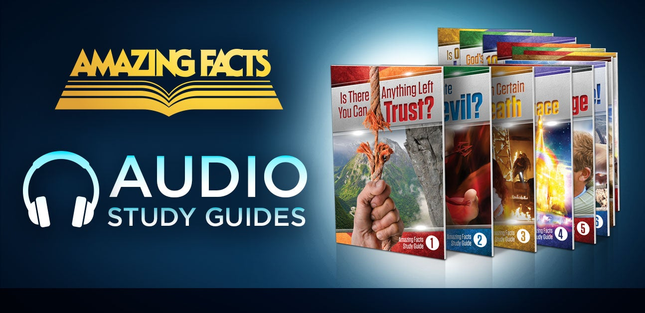 Amazing Facts Audio Bible Study Guides