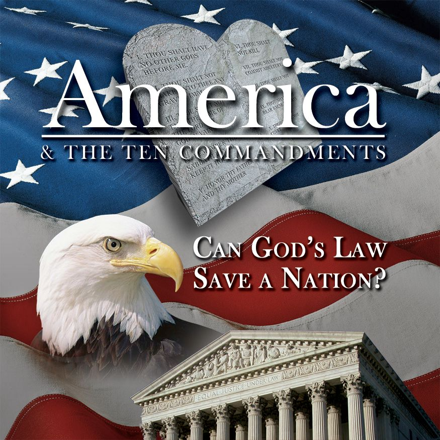 America & the Ten Commandments
