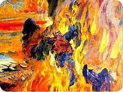 11. だれのために、地獄の火はつけられるのですか?