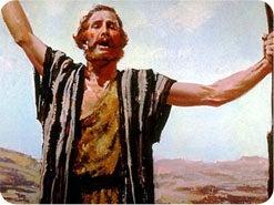 1. 新約聖書のどの預言者が、ヨルダン川を使ってバプテスマ、つまり清めを行いましたか?