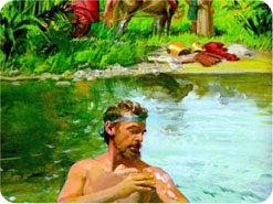 2. 聖書のどのすばらしい儀式が、罪の病からの「洗い清め」を象徴していますか?