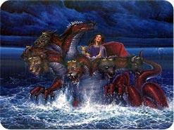 5. この獣は海から上って来ます。海や水は何の象徴ですか?